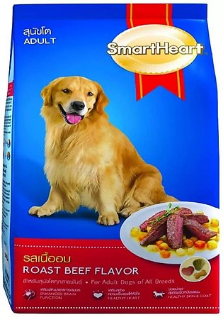 SmartHeart Dry Dog Food ROAST BEEF FLAVOR 10 KG IMPORTED FROM THAILAND
