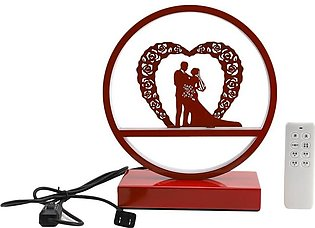 Nordic Decorative Led Table Lamp Creative Bedroom Bedside Lamp Wedding Gift Wed…