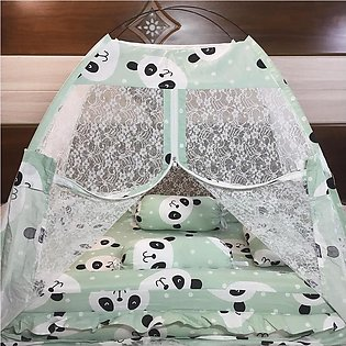 High Quality Extra Large Size 3ft Super Soft Baby Bed Set With 1 Pillow 2 Cushi…