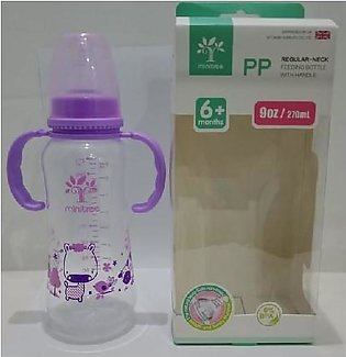 MINITREE Baby Feeder 270ml Purple