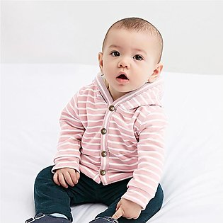 ✫Good Quality✫ Toddler Baby Boy Girls Long Sleeve Winter Striped Windproof Hood…