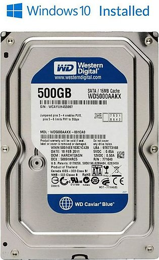 500 GB /250 Gb Hard Disk WINDOWS 10 READY Pulled out From Branded Desktop Hard …