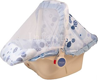 Infantes Baby Carry Cot w/ Mosquito Net Blue