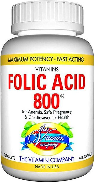 The Vitamin Company Folic Acid