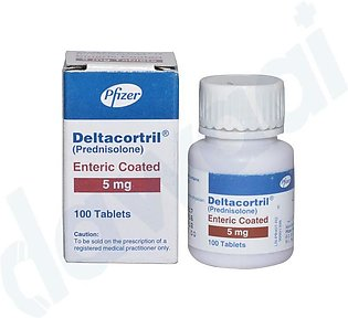 Deltacortril Enteric Coated 5mg