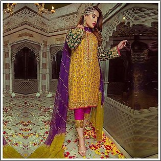 Sobia Nazir New luxury Chiffon Suite 2020 Collection