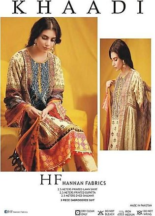 Khaadi Lawn  Collection Suit - Replica - Unstitched