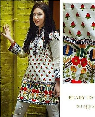 NIMSAY COTTON SUIT (Replica) (Unstitched)