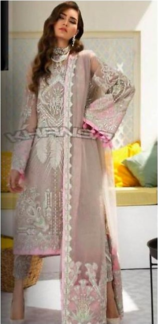 Iznik Collection Heavy Embroidery Chiffon Sute Or Frock Style With Embroidery...