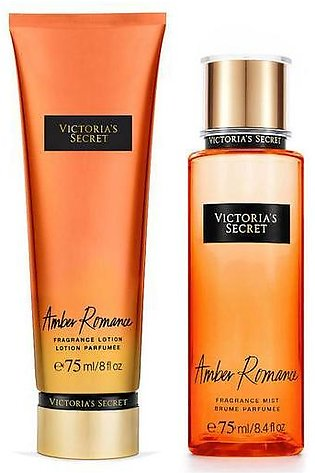 Victoria Secret - Mist & Lotion Mini Giftables- Amber Romance - 75ML