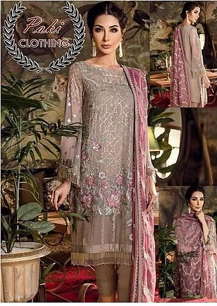 Iznik Chiffon COLLECTION  Replica - Unstitched