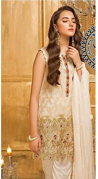 Nakoosh New Luxury Mysoori Malai Lawn Suit 2020 Collection