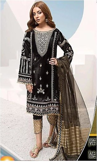 NOOR BY SADIA VELVET EMBROIDERY COLLECTION
