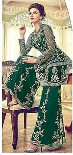 Indian party wear dress Green
