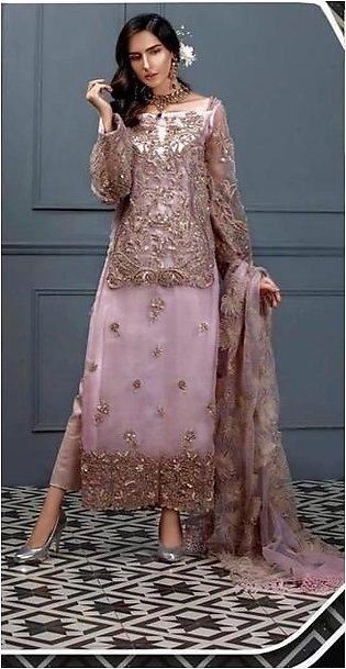 •Brand ASIFA NABEEL  •Article Formal & Party Wear •Fabric ORGANZA & NET