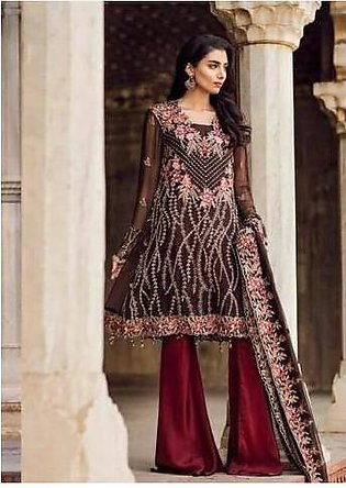 IZNIK CHIFFON SUIT - Replica - Unstitched