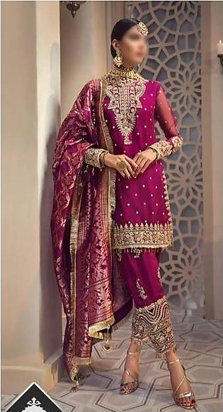 Anaya New Luxury Organza Suit 2020 Collection