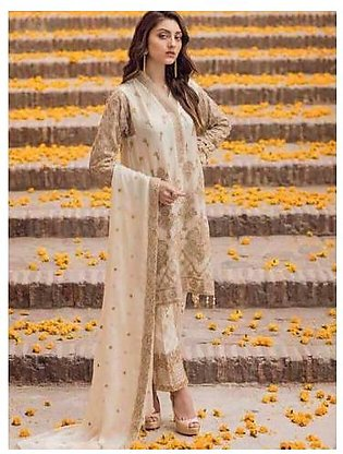 IZNIK COTTON SUIT (Replica) (Unstitched)