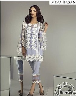 Mina Hasan Luxury Net Collection (Replica)(Unstitched)