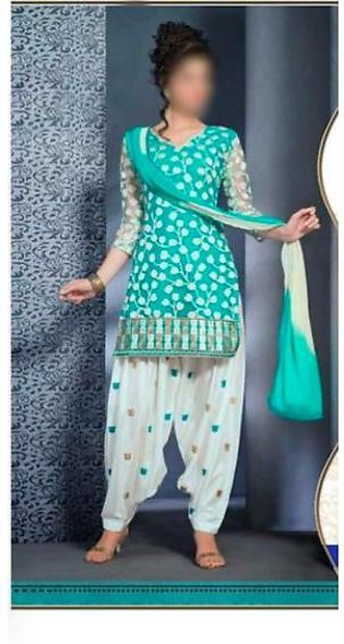 Nimsey Lawn With Chiffon Embroidered Dupatta Full Embroidered Front - Replica...
