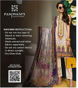 ANAYA by Kiran Choudhry Lawn  Collection Replica - Unstitched