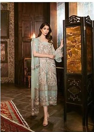 IZNIK CHIFFON LUXURY COLLECTIONReplica)(Unstitched)