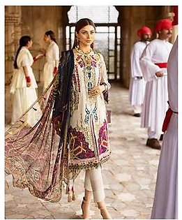 Ittehad Lawn COLLECTION Replica - Unstitched