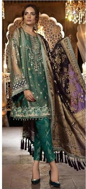 Maria B New Luxury Net Suit 2020 Collection
