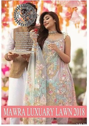 Anaya Lawn Bridal  Collection 2019 New Design