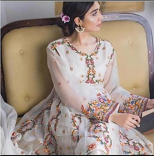 Agha Noor Chiffon COLLECTION  Replica - Unstitched