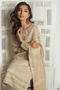KROSS CULTURE Hit Code Available Now Full Cotton With Chiffon Dupatta.- Grey