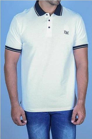Diner's Men's Polo T-Shirt SKU: NA634-WHITE