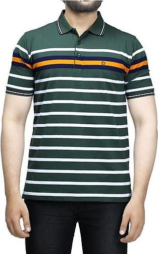 Diner's Men's Polo T-Shirt SKU: NA697-Green