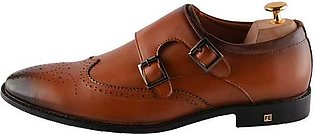 Formal Shoes For Men in Tan SKU: SMF0059-TAN