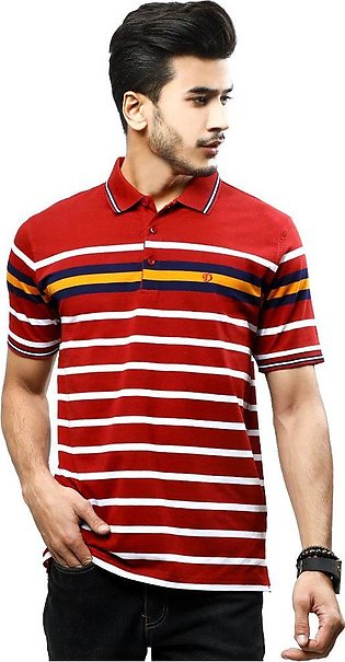Diner's Men's Polo T-Shirt SKU: NA697-Red
