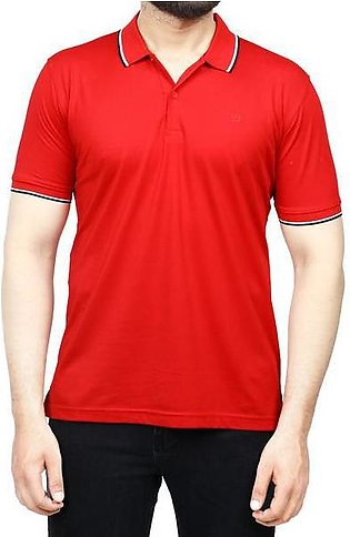 Diner's Men's Polo T-Shirt SKU: NA685-Red
