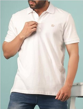 Diner's Men's Polo T-Shirt SKU: NA620-White