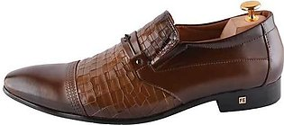 Formal Shoes For Men in Brown SKU: SMF0110-BROWN