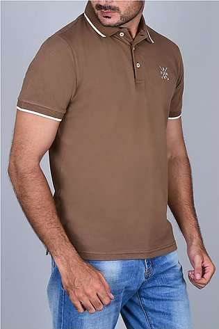 Diner's Men's Polo T-Shirt SKU: NA658-Brown