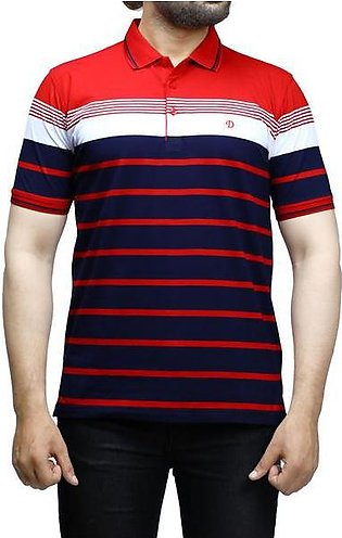 Diner's Men's Polo T-Shirt SKU: NA695-Red