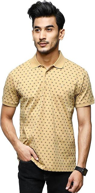 Diner's Men's Polo T-Shirt SKU: NA687-Beige