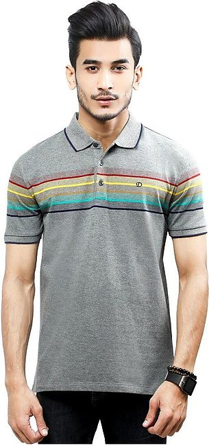 Diner's Men's Polo T-Shirt SKU: NA702-Grey
