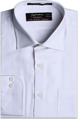 Formal Men Shirt in Offwhite AB19371