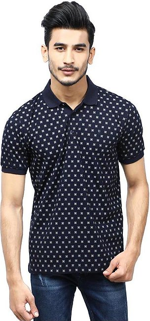 Diner's Men's Polo T-Shirt SKU: NA687-N-Blue