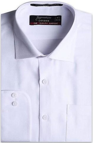Formal Men Shirt in White AB19371