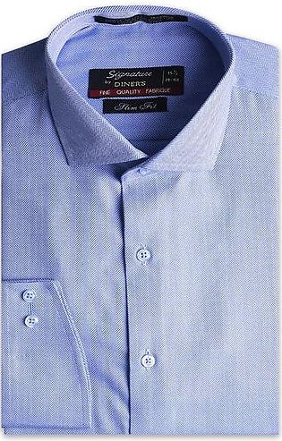 Formal Men Shirt in Blue AB19371