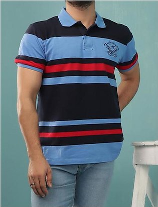 Diner's Men's Polo T-Shirt SKU: NA595-BLUE