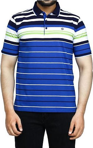 Diner's Men's Polo T-Shirt SKU: NA698-R-Blue