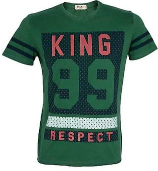 Diner's Men's Round Neck, T-Shirt SKU: NA514-GREEN