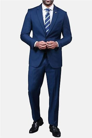 Diner's 2 Pcs Suit in R-Blue SKU: DA999